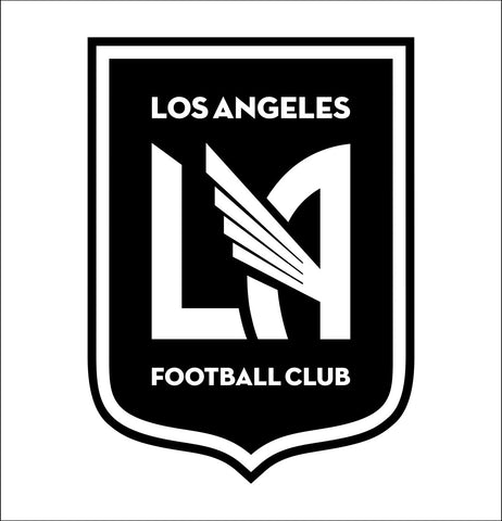 Los Angeles FC decal, car decal sticker