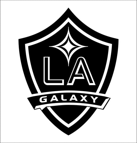 Los Angeles Galaxy decal, car decal sticker