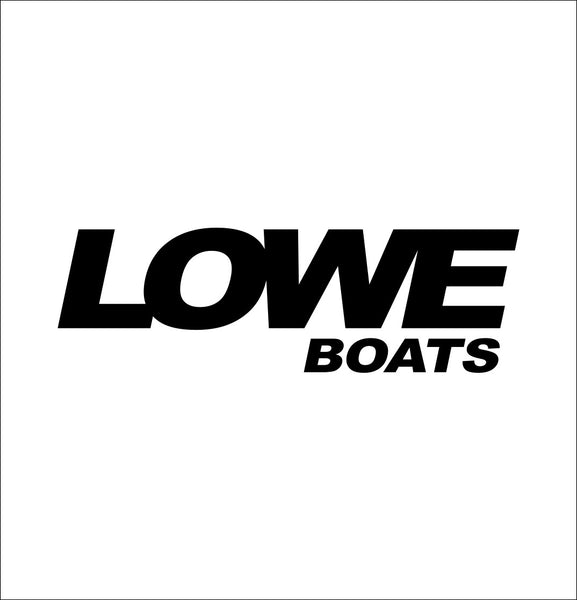 Lowe Boats decal, sticker, hunting fishing decal