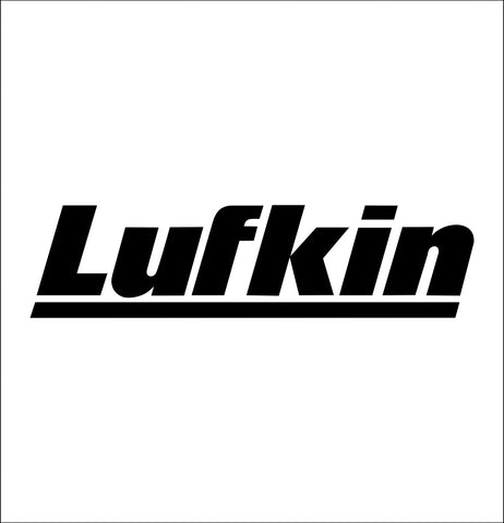 lufkin tools decal, car decal sticker