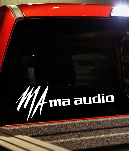 Mac Audio decal, sticker, audio decal