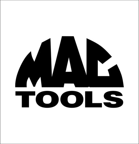 mac tools decal, car decal sticker