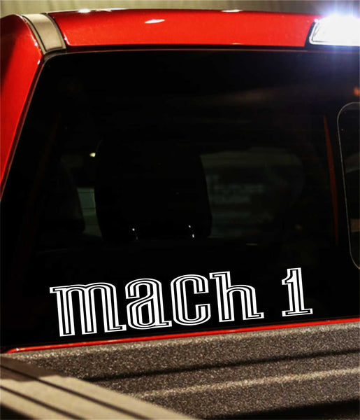 mach 1 decal - North 49 Decals