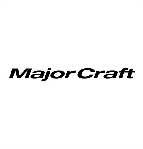 Major Craft Rods decal, sticker, hunting fishing decal