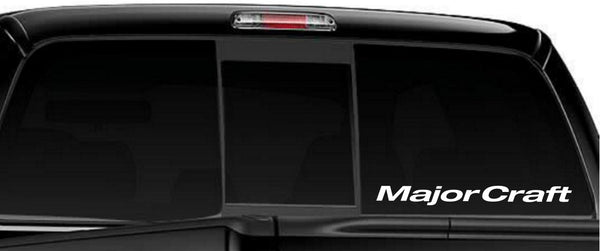 Major Craft Rods decal, sticker, car decal