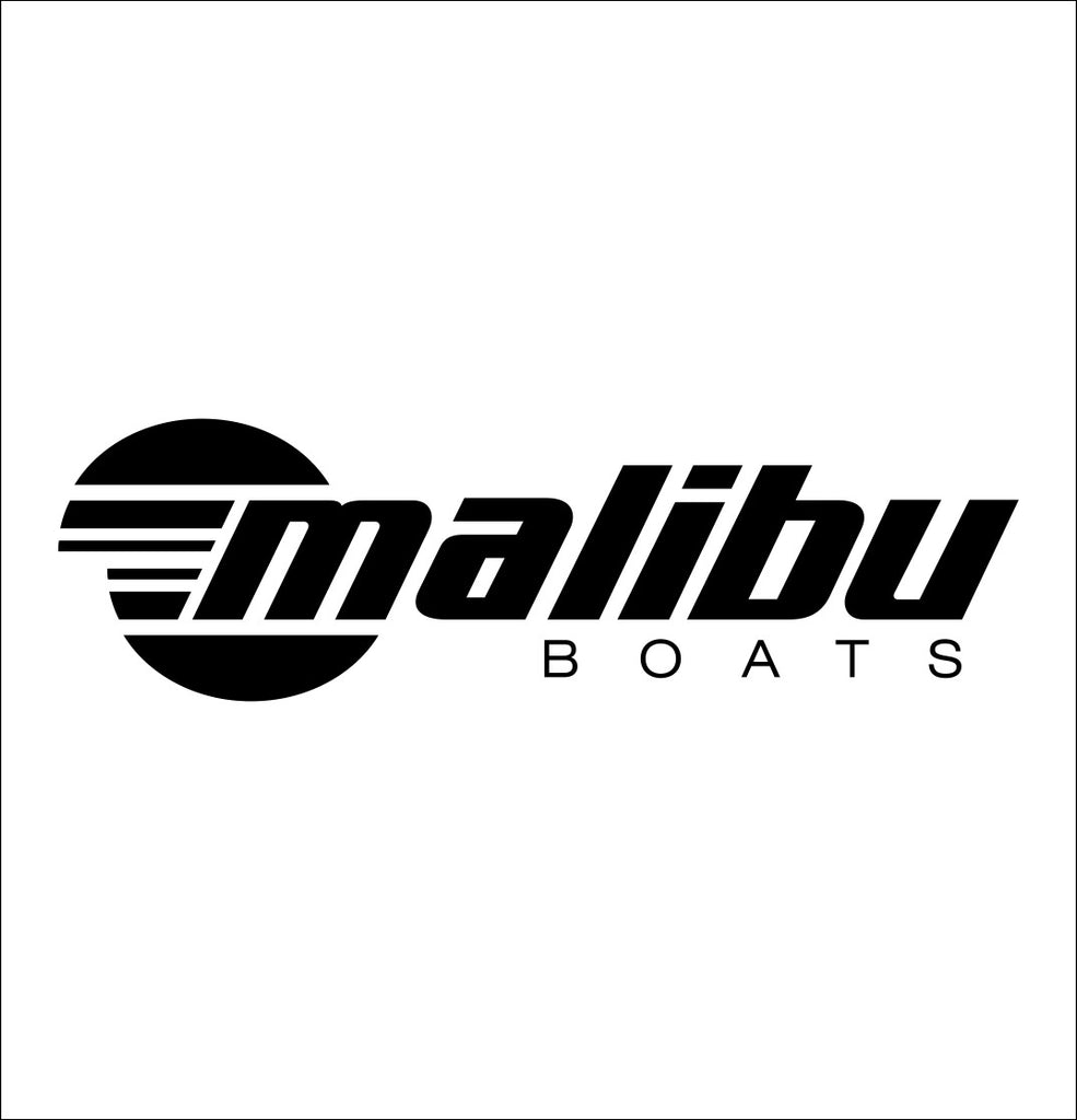 Malibu Boats decal