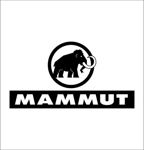 mammut decal, car decal sticker