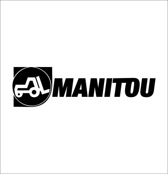 Manitou decal, farm decal, car decal sticker