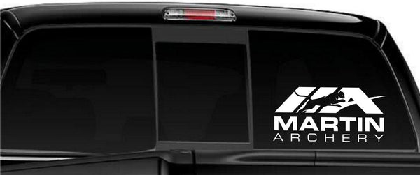 Martin Archery decal, sticker, car decal