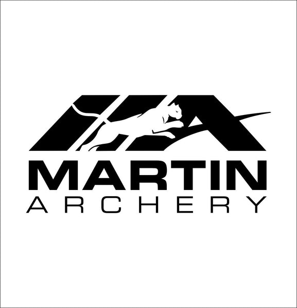 Martin Archery decal, sticker, hunting fishing decal