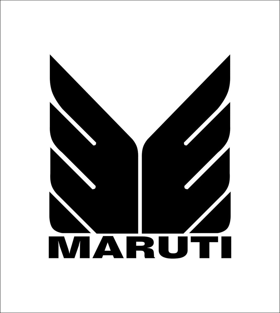 Maruti decal, sticker, car decal