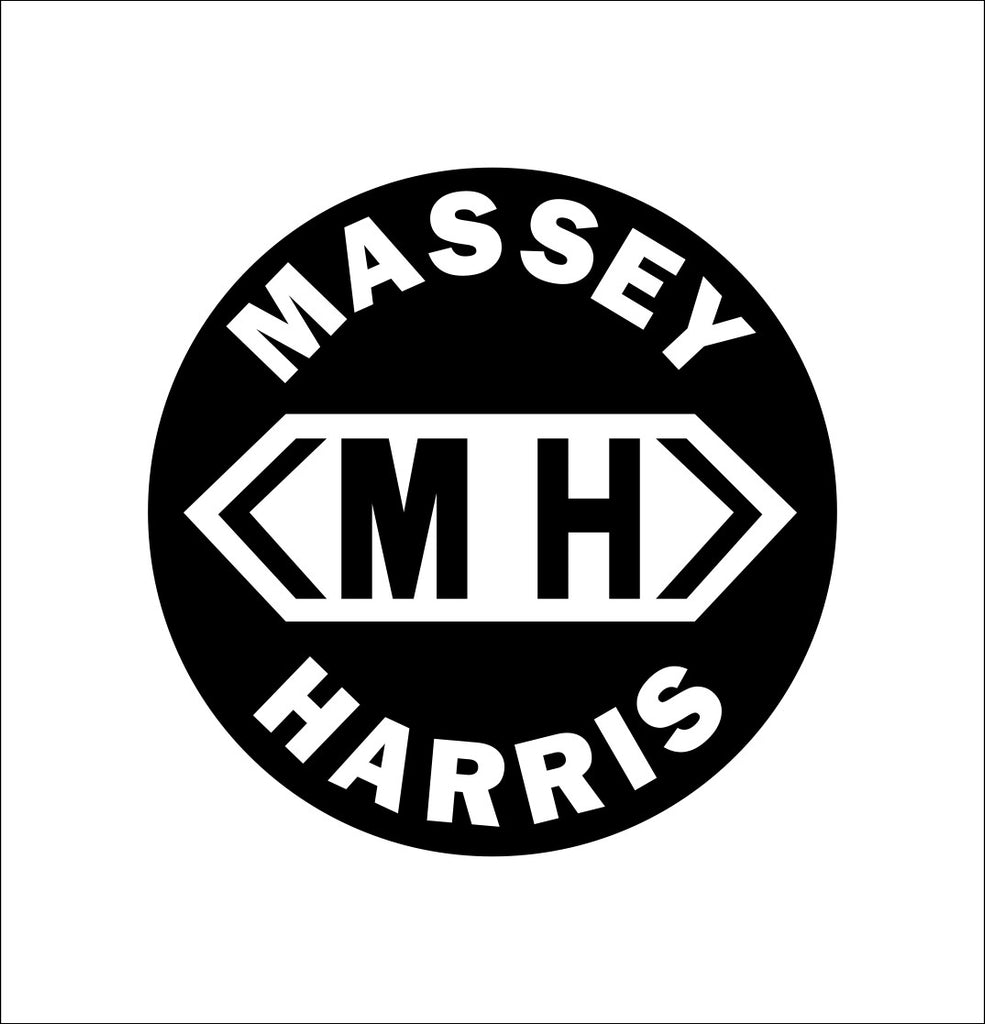 Massey Harris decal, farm decal, car decal sticker
