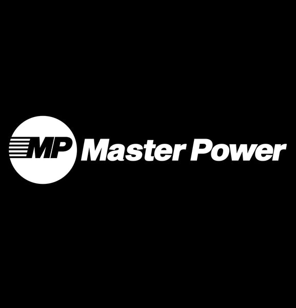 master power tools decal, car decal sticker