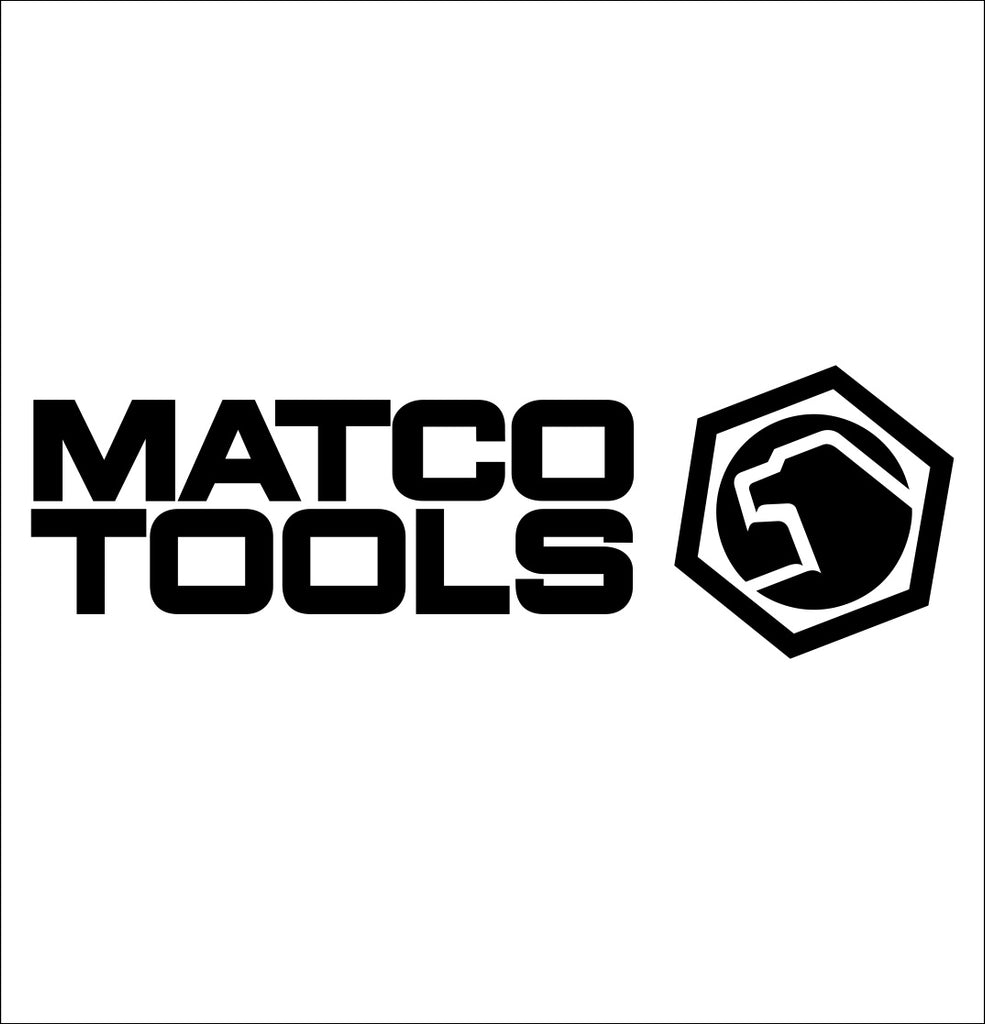 matco tools decal, car decal sticker