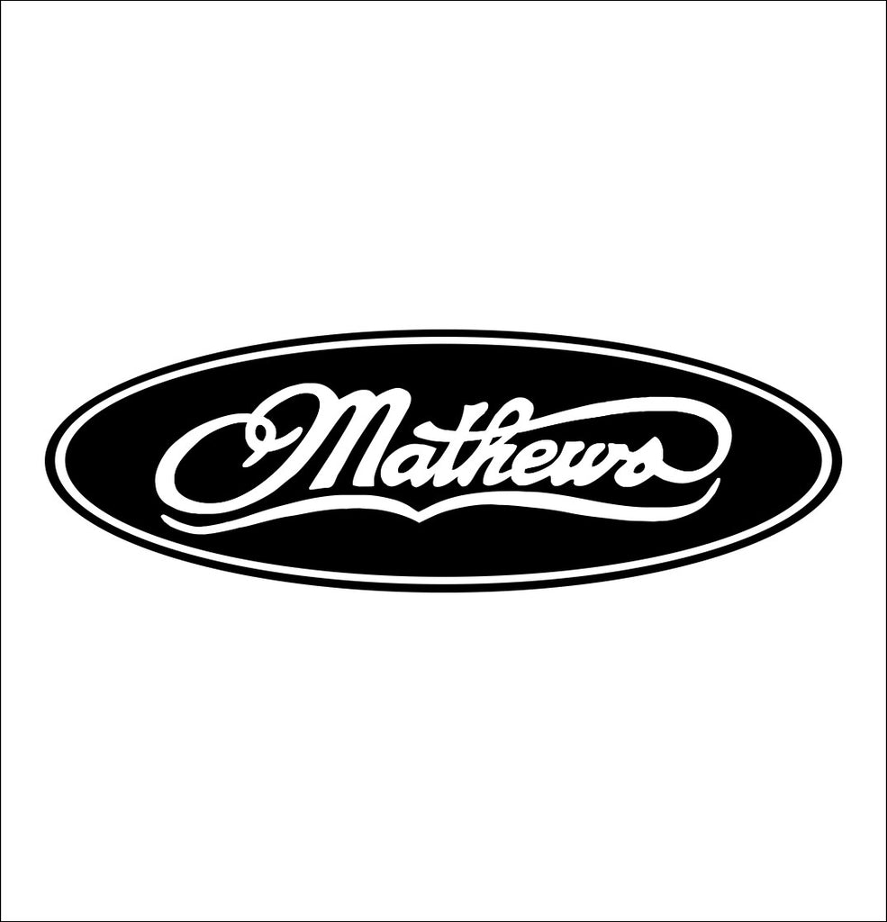 Mathews Archery decal, sticker, hunting fishing decal