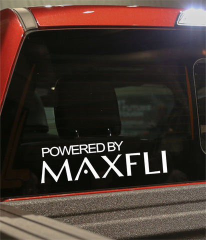 powered by maxfli golf decal - North 49 Decals