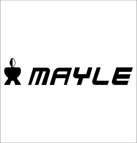 mayle tools decal, car decal sticker