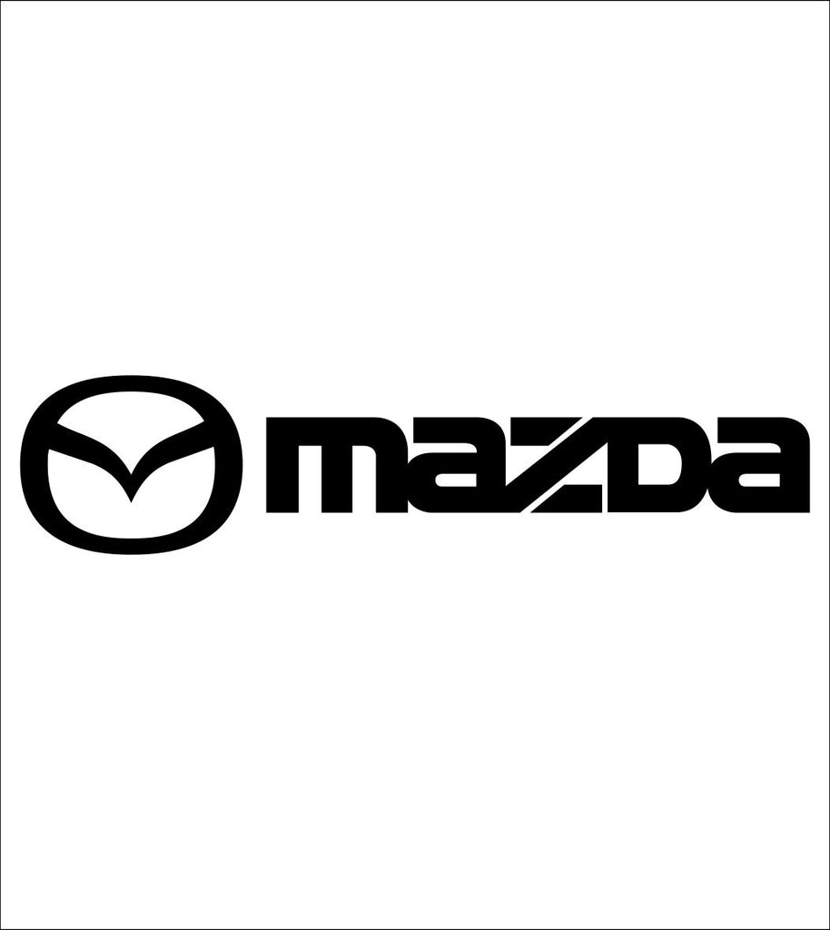 Mazda decal, sticker, car decal