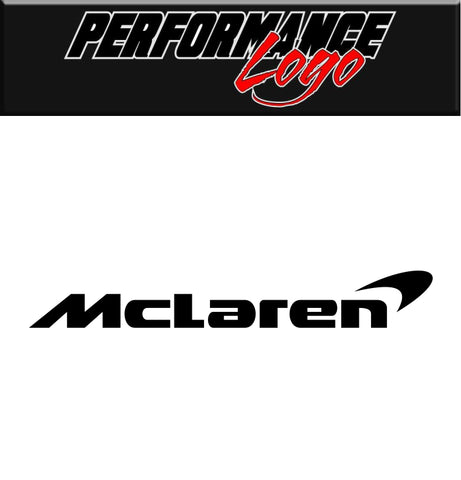 McLaren decal, performance decal, sticker