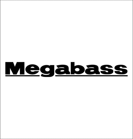 Megabass decal, fishing hunting car decal sticker