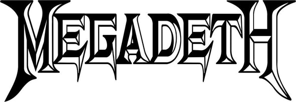 megadeth band decal - North 49 Decals