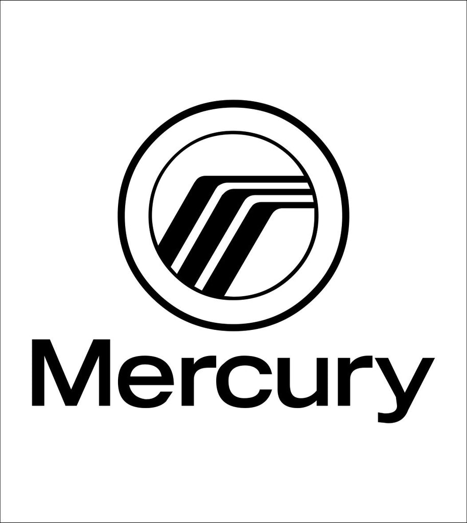 Mercury decal, sticker, car decal