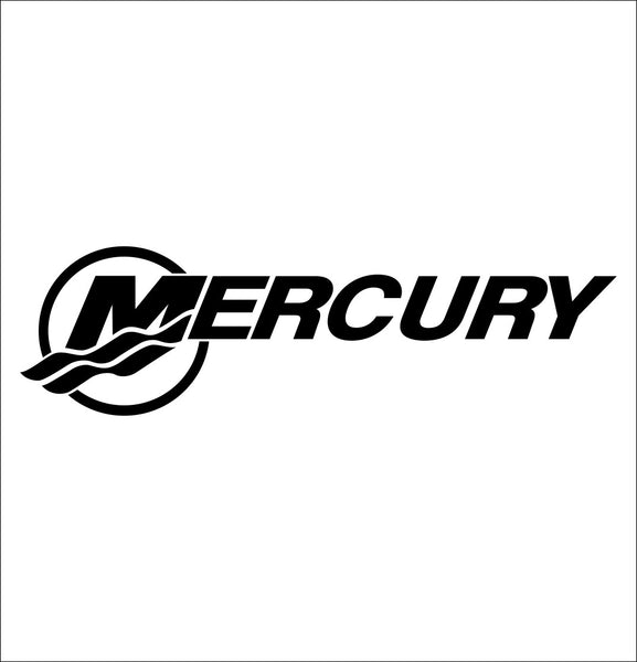 Mercury Marine decal, sticker, hunting fishing decal