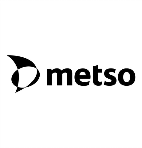 Metso decal, car decal sticker