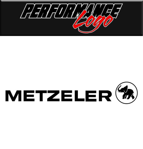 Metzeler performance decal car decal sticker