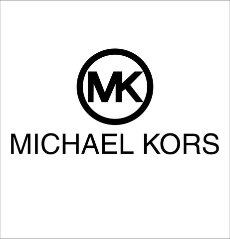 Michael Kors decal, car decal sticker