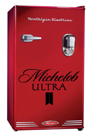 Michelob Ultra decal, beer decal, car decal sticker