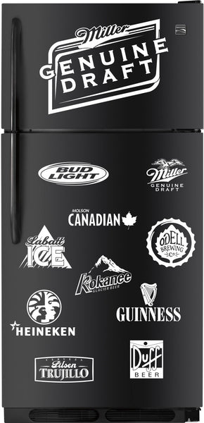 Miller Genuine Draft decal, beer decal, car decal sticker