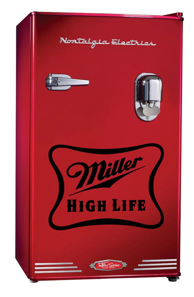 Miller High Life decal, beer decal, car decal sticker