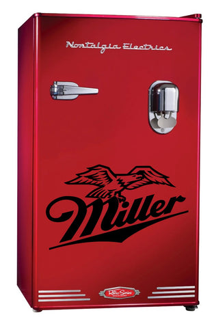Miller Beer decal, beer decal, car decal sticker