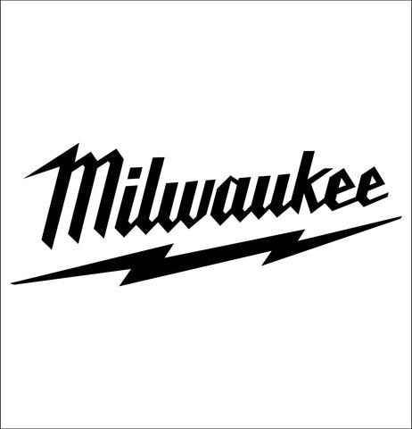 milwaukee tool decal, car decal sticker