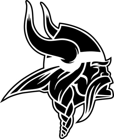 minnesota vikings car window decal