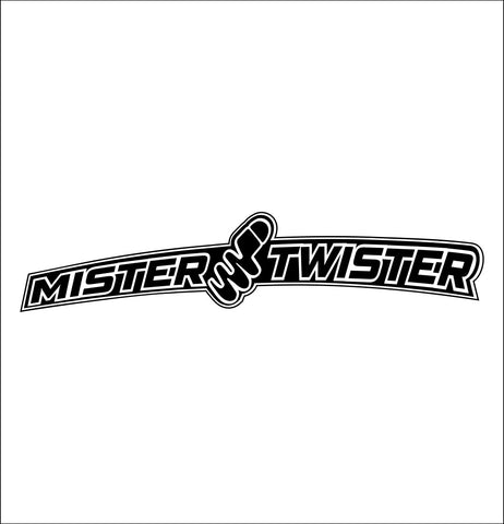 Mister Twister decal, sticker, hunting fishing decal