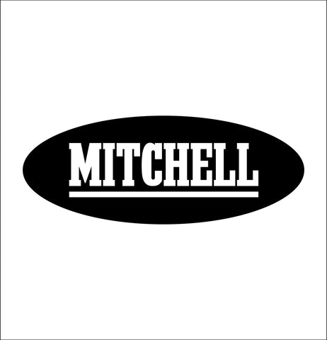 Mitchell decal, sticker, hunting fishing decal