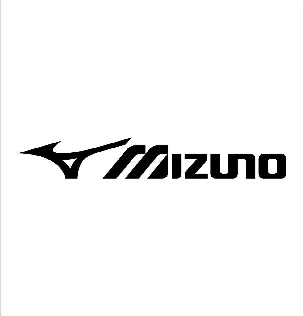 mizuno decal, car decal sticker