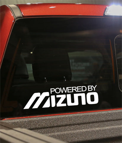 powered by mazuno golf decal - North 49 Decals