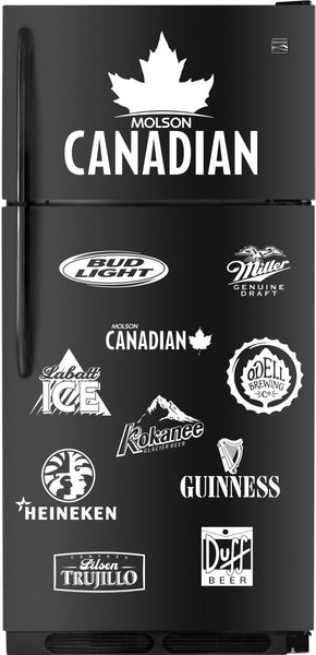 Molson Canadian decal, beer decal, car decal sticker