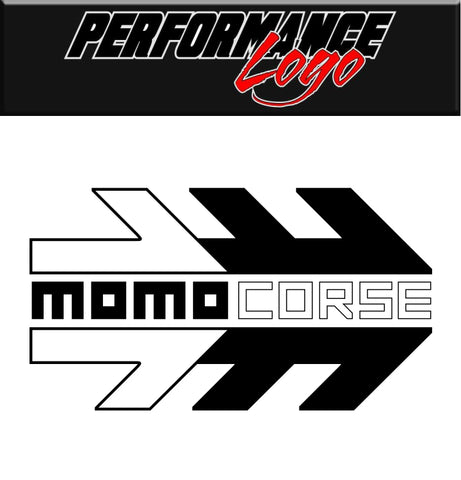Momo Corse decal, performance decal, sticker