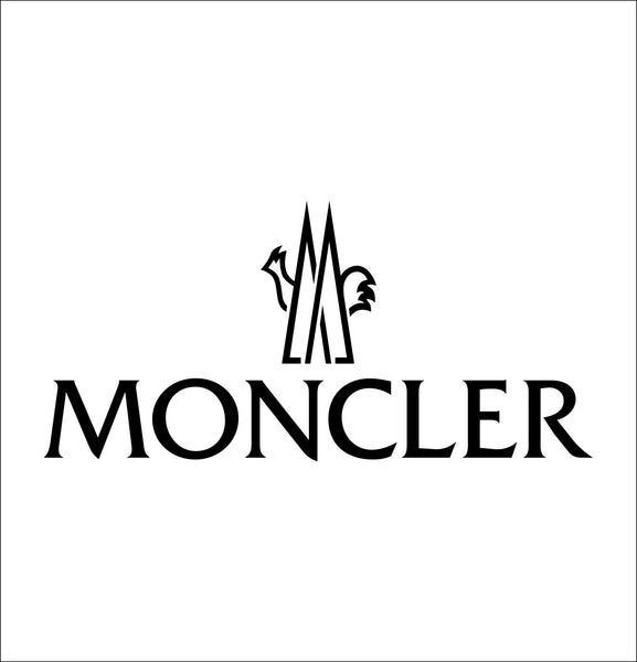 moncler decal, car decal sticker
