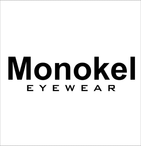 Monokel decal, car decal sticker
