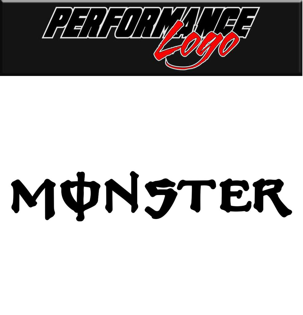 Monster Energy decal, performance decal, sticker