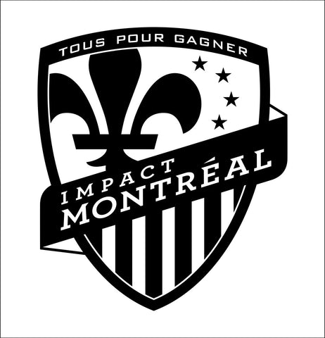 Montreal Impact decal, car decal sticker