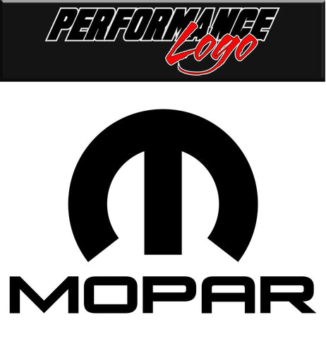 Mopar decal, performance decal, sticker