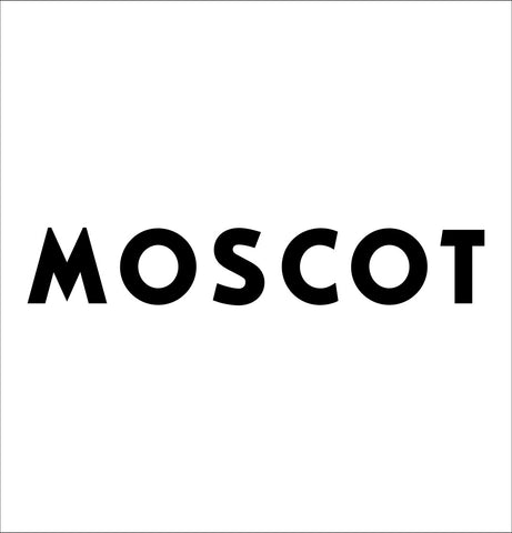 Moscot decal, car decal sticker