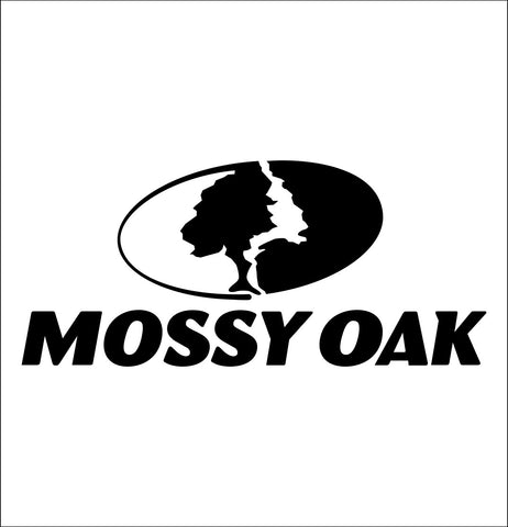 Mossy Oak decal, sticker, hunting fishing decal