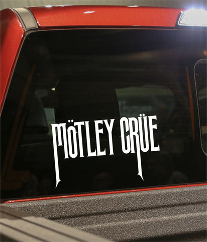 motley crue band decal - North 49 Decals